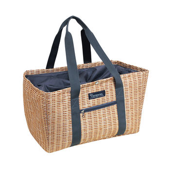 So into this design on Fab! Panier Shopping Tote Cooler #FabForAll