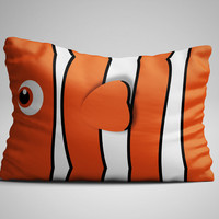Finding Nemo Cute Face Custom Design Pillow Case 16x24 Limited Edition