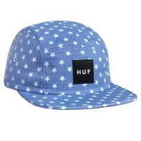 HUF | HUF STARS CHAMBRAY VOLLEY // BLUE / WHITE