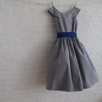 Grey Tea Dressmade to measure by sohomode on Etsy