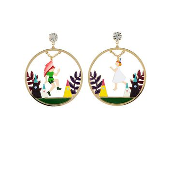 N2 by Les Néréides FLY WITH ME PETER AND WENDY INDIAN HOOPS