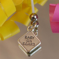 Pregnancy Belly Button Rings-Baby on Board