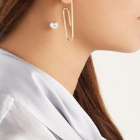Oversized paperclip single earring | Hillier Bartley | MATCHESFASHION.COM UK
