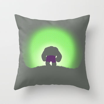 My Time In Exile Throw Pillow by Gavin Guidry