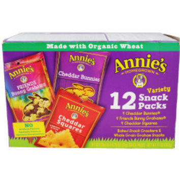 Organic Variety Snack Pack - 12 count each