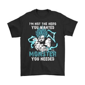 PEAPCV3 I'm Not The Hero You Wanted Son Goku Dragon Ball Shirts
