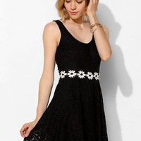 Pins And Needles Daisy-Waist Fit & Flare Dress - Urban Outfitters