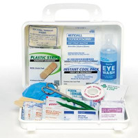 First Aid Kit Weatherproof Plastic Case | Zee Medical #13020