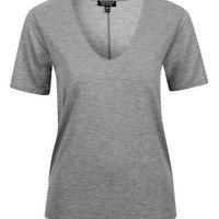 Super-Soft V-Front Tee - New In