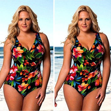 rand Sexy Bohemia One Piece Swimsuit Swimwear women monokini plus size swimwear women swim wear one piece bathing suit