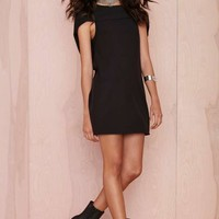 Nasty Gal Fly High Cape Dress