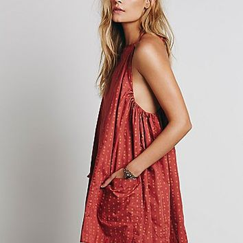 Free People Womens Everlong Trapeze Dress