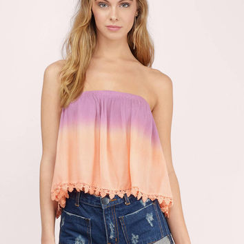 Heavenly Touch Cropped Top