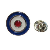 Roundel Design Lapel Pin and Tie Tack [Jewelry]