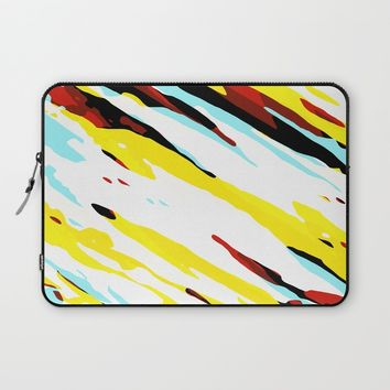 Trippy Panda 8 Laptop Sleeve by HappyMelvin Graphicus
