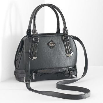 Simply Vera Vera Wang Morocco Mini Convertible Satchel