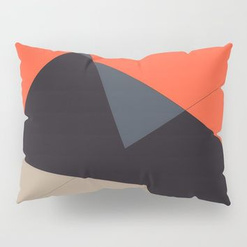Over the Town Pillow Sham by duckyb