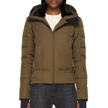 military green mens canada goose uk borden bomber
