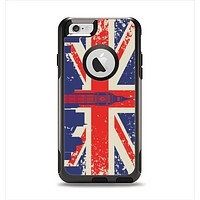 The Vintage London England Flag Apple iPhone 6 Otterbox Commuter Case Skin Set
