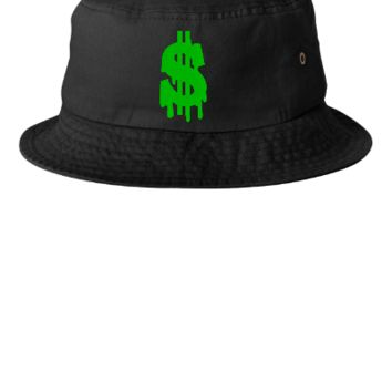 dollar embroidery snapback hat - Bucket Hat