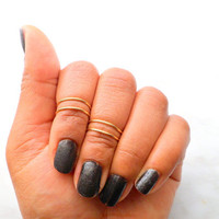 Above Knuckle Ring, Adjustable Finger Ring, Silver Plated Slim Stackable rings, Edgysheeq statement rings for everyday Flair