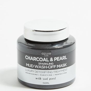 Charcoal and Pearl Sparkling Mud Face Mask