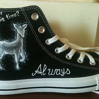 Hand Painted Chucks - Harry Potter