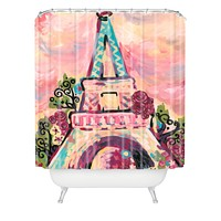 Natasha Wescoat Lumiere De La Ville Shower Curtain