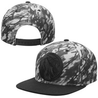 Mens Minnesota Timberwolves adidas Gray Immortal Adjustable Snapback Hat