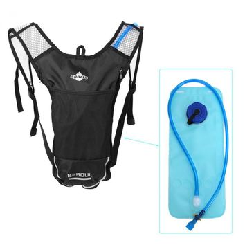 B-SOUL 5L Hydration Water Bag Backpack + 2L Water Bag Running Outdoor Sports Cycling Bike Bags Camelback Water Bladder Container