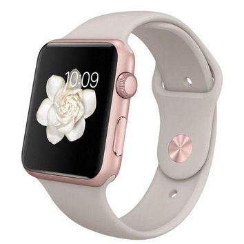 LMFGQ6 series 2 apple Watch Band 42mm rose gold