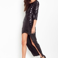 Leggy Sequin Dress in What's New at Nasty Gal
