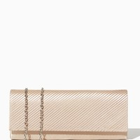 Diagonal Pleat Rectangle Clutch | Evening Bags - RSVP Special Occasion | charming charlie