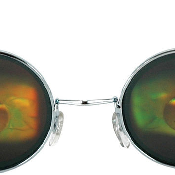 costume accessory: glasses eyeball holographic Case of 2
