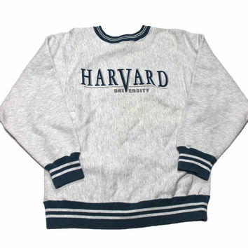 Vintage 80s Harvard University Crewneck from Vintage Mens Goods