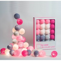 La case de cousin paul ball lighting - children's light garland