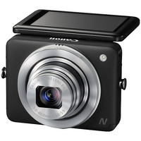 "Buy Canon PowerShot N Camera, HD 1080p, 12.1MP, 8x Optical Zoom, Wi-Fi with 2.8"" Touch Screen online at John Lewis"