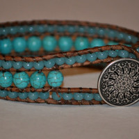 Turquoise Cuff Bracelet BoHo country chic Shabby Cyber Monday Etsy Black Friday Etsy
