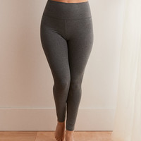 Aerie Chill High Waisted Legging, Iron Heather