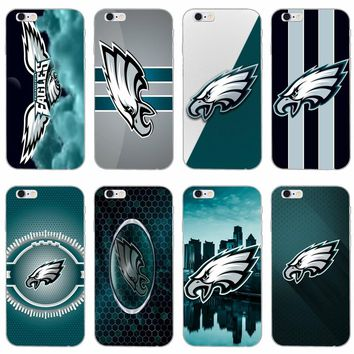 Philadelphia Eagles American Football slim silicone Soft phone case For LG G2 G3 mini spirit G4 G5 G6 K7 K8 K10 2017 V10 V20 V30