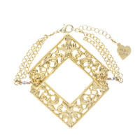 Triangle Filigree Bracelet