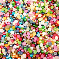 3/4/5/6/8/10mm 15 Kinds Multicolor DIY Acrylic Confetti Craft Supplies Accessories Wedding Party Easter Halloween Decoration