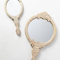 Carved Vanity Wall Mirror