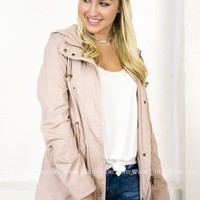 Wales Hoody Jacket | Light Blush