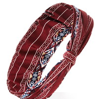 Southwestern-Inspired Headwrap