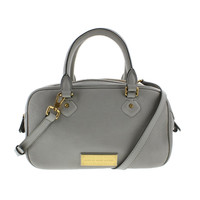 Marc by Marc Jacobs Womens Leather Lined Satchel Handbag
