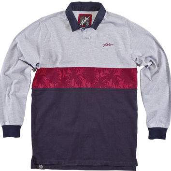 JSLV Academy Long Sleeve Polo Shirt - Athletic Navy