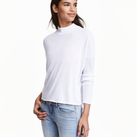 H&M Ribbed Mock-turtleneck Sweater $9.99