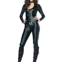 Leg Avenue Women's Three-Piece Frisky Feline Catsuit Costume:Amazon:Clothing