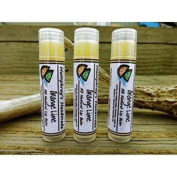 ORANGE LIME Lip Balm Flavor | Essential Oil Lip Balm